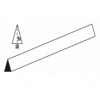 Профиль треугольный бальза 15х25х1000мм (AxHxL)