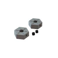 Хекса колесная 14мм ARRMA 1/10 4x4 (металл) 2шт