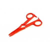 Щипцы-зажим L120мм (красные)