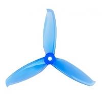 Пропеллер Gemfan WinDancer 5042 3-х лопастной (Clear Blue) 2 пары