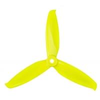 Пропеллер Gemfan WinDancer 5042 3-х лопастной (Lemon Yellow) 2 пары
