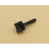 Винт пластмассовый М4х12мм (барашек, черный)
