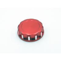 Крышка для канистры алюминиевая (D45xD.внут.36×H15мм, красная)