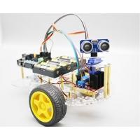 Платформа 2WD с ультразвуковым датчиком препятсвий и сервоприводом