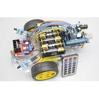 Платформа 2WD с ИК датчиком следования по линии, датчиком препятствий и ИК пультом