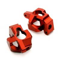 Кастер блоки 2шт (красный) HPI 1/10 Bullet MT & Bullet ST