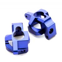 Кастер блоки 2шт (синий) HPI 1/10 Bullet MT & Bullet ST