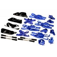 Комплект подвески (синий) HPI 1/10 Bullet MT & Bullet ST