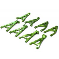 Комплект алюм. рычагов (зеленый) для Traxxas 1/16 E-Revo