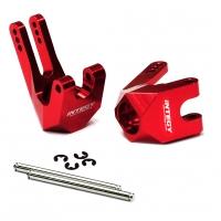 Кулаки задние (2шт) (красный) для Savage XL Flux & X 4.6