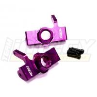 Рулевые кулаки (фиолет) для HPI Savage XL Flux & X 4.6