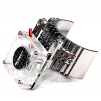 Motor Heatsink w/ Cooling Fan for Slash, Stampede, Rustler & Bandit