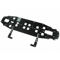 Graphite Main Chassis 2.25MM (Narrow) For 3racing Sakura Zero