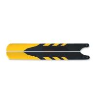 Лопасти стекловолокно (желто-черные) 325мм