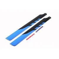 Лопасти стекловолокно (черно-синие) 325мм