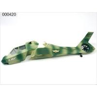 000420 (EK1-0593) Фюзеляж вертолета Co-Comanche камуфляж