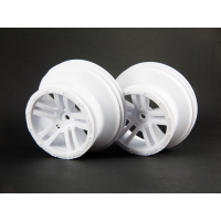 WHEEL 'FURY' (WHITE) (2pcs)