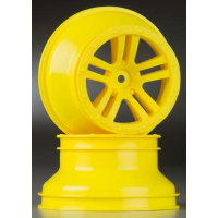 WHEEL 'FURY' (YELLOW) (2pcs)