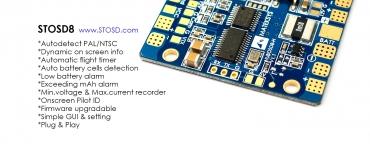 Плата Matek HUBOSD eco H Type w/STOSD8