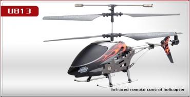 Вертолет Udi U813 3-кан с гироскопом