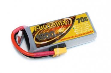 Аккумулятор LiPo Fullymax 11.1V 1600мАч 70C