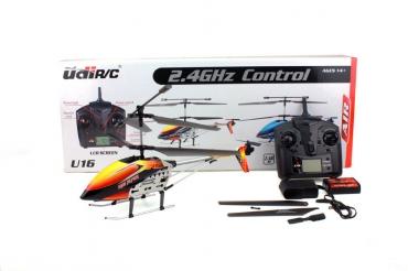 Вертолет Udi U16 3-кан с гироскопом