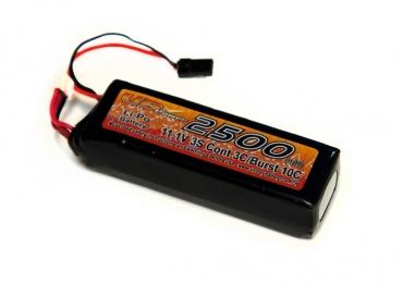 Аккумулятор для передатчика LiPo 11.1V 2500мАч (тип В)