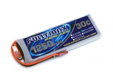 Аккумулятор LiPo Fullymax 11.1V 1250мАч 30C