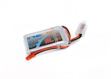 Аккумулятор LiPo Bonka 7.4V 850мАч 25C (JST)