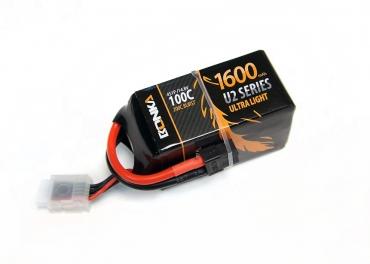 Аккумулятор LiPo Bonka 14.8V 1600мАч 100C (XT60)