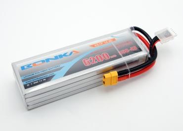 Аккумулятор LiPo Bonka 6200мАч 35C 14.8V