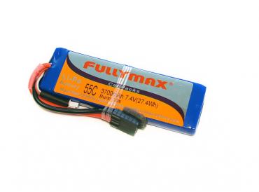 Аккумулятор LiPo Fullymax 7.4V 3700мАч 55C (Traxxas)