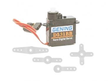 Cервомашинка цифровая Gening D531 BB Nano