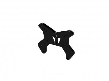 Бабочка передняя алюминиевая (черная) ARRMA Senton 6S