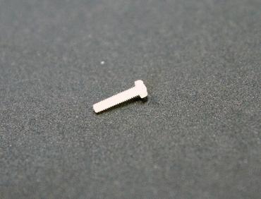 Винт пластмассовый M2x10мм
