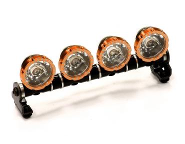 Дополнительный свет (4шт) (белые+желтые LED) для моделей 1/10, 1/8, 1/5