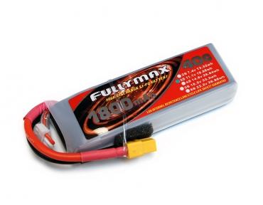 Аккумулятор LiPo Fullymax 11.1V 1800мАч 40C