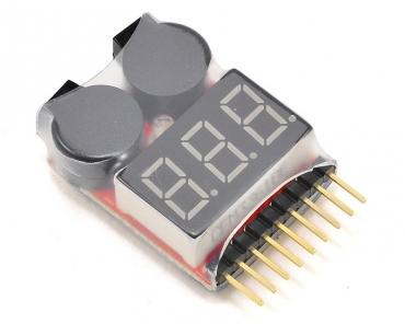 Индикатор питания для LiPo аккумуляторов с биппером 1-8S