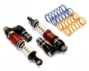 Амортизаторы (черные) 2шт L=91мм для SCX-10, Dingo, Honcho, Jeep