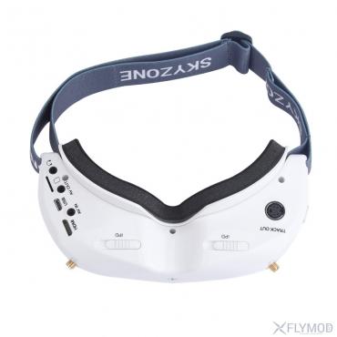 Видеоочки Skyzone SKY02X (white, headtracker, front camera)