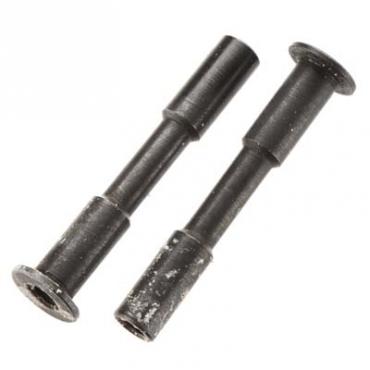 STEEL STEERING POST 3x45mm (Black) (2pcs)