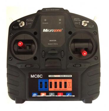 Аппаратура радиоуправления Microzone MC8C