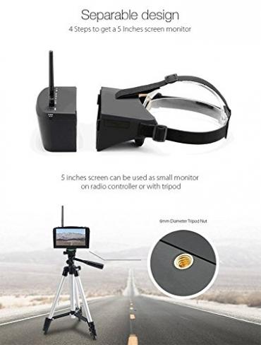 Видеошлем Eachine EV800 5.8G 40CH