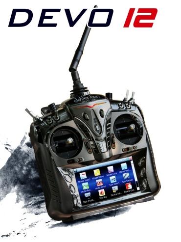 Аппаратура радиоуправления Walkera Devo 12 2.4Ггц