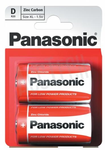 Батарейки Panasonic Zinc Carbon